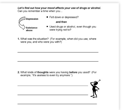 Printables. Substance Abuse Recovery Worksheets. Gozoneguide ...